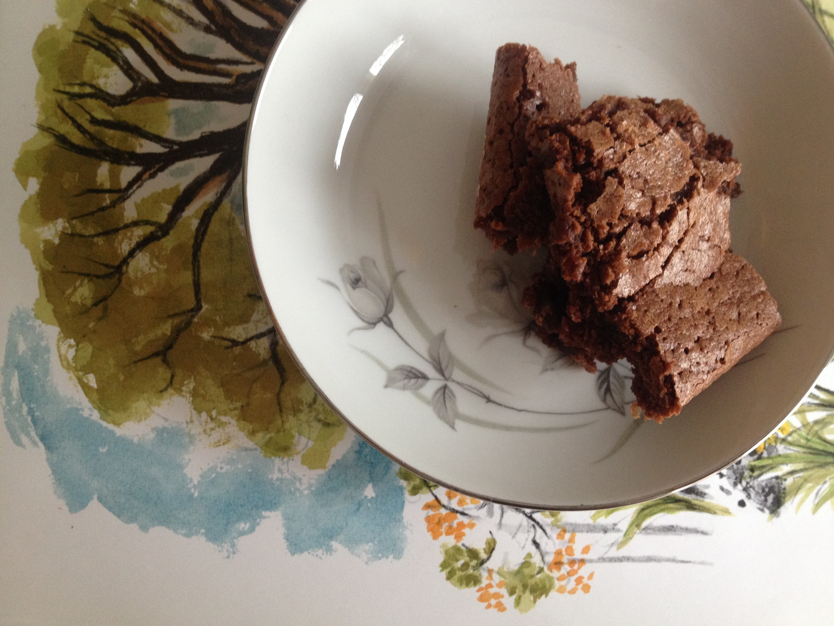 Blue apron brownies - To Celebrate My Birthday I Tried A New Recipe For Brownies Katharine Hepburn S Brownies I Followed The Recipe Straight From The Gourmet Cookbook